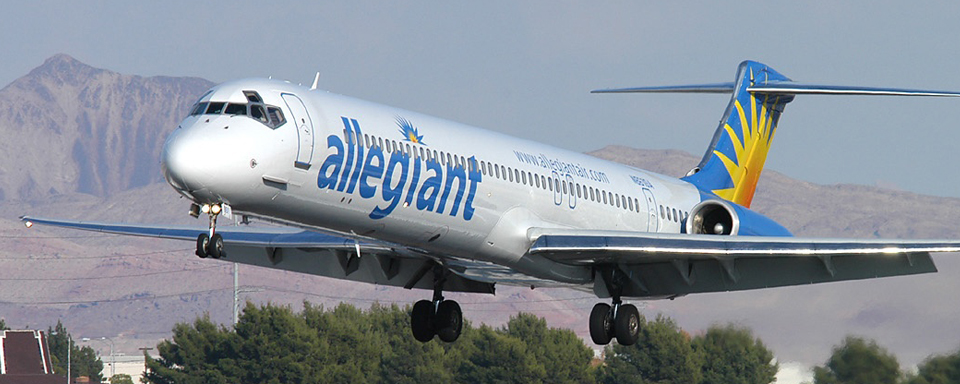 Irelandia Aviation Case Studies Allegiant Banner